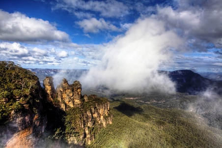 Three Sisters - Echo Point Lookout