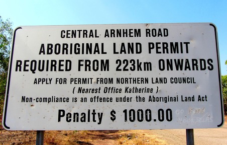 Aboriginal Land Permit
