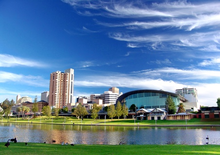 Convention Centre & River Torrens