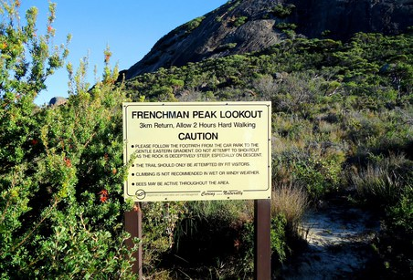 Frenchman Peak Walk